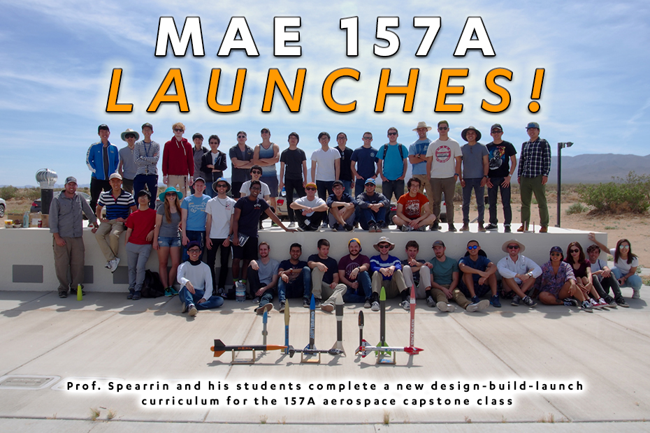 MAE 157A launches!