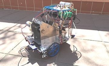 First Prize Winner Team-13 Autonomous Transporter.