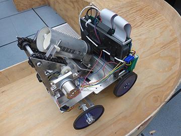 Second Prize Winner Team-16 Autonomous Transporter