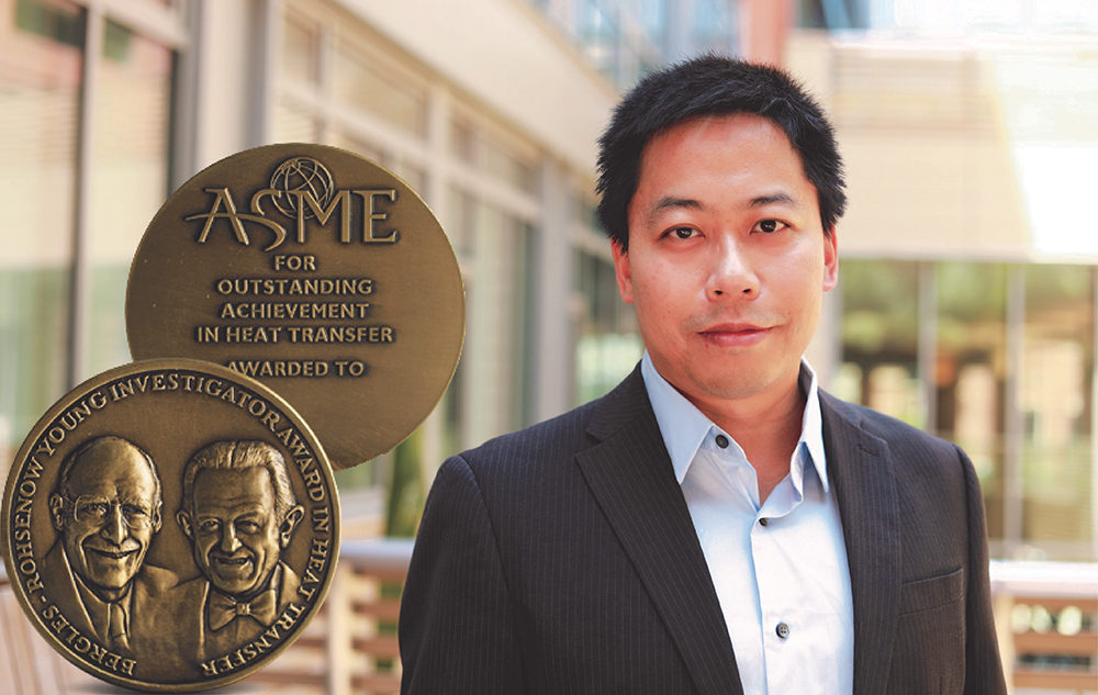 Prof. Yongjie Hu Receives 2019 ASME Bergles-Rohsenow Young Investigator Award in Heat Transfer