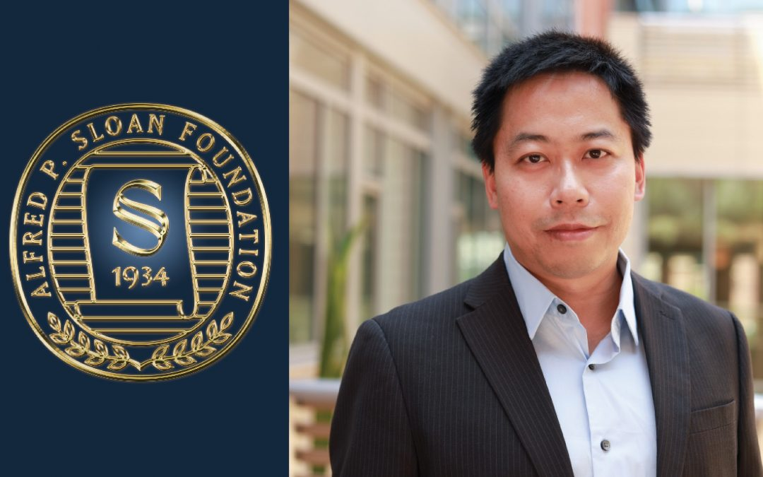 Prof Yongjie Hu Selected as 2019 Alfred P. Sloan Research Fellow