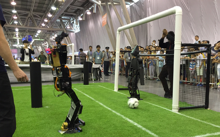 THOR triumphs at 2015 RoboCup