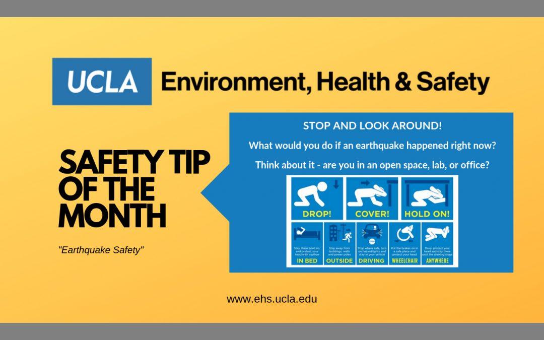 Safety Tip – Oct 2019