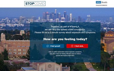 UCLA Web App Enlists Public Support to Mitigate Spread of COVID-19