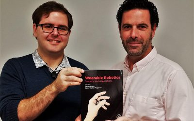 """Peter Ferguson and Jacob Rosen are editors and co-authors of the new book """"Wearable Robotics – Systems and Applications"""""""