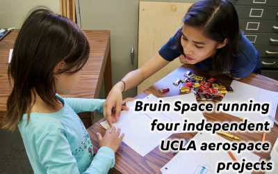 Bruin Space running four independent UCLA aerospace projects