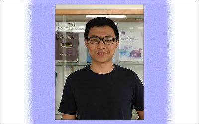 Ph.D. student Yuzhen Chen receives the 2019 Haythornthwaite Foundation Student Travel Award
