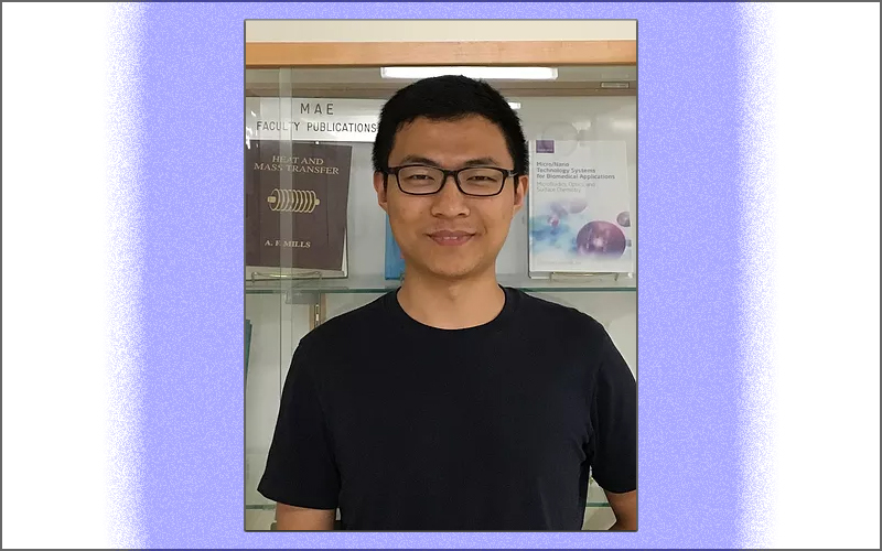 Ph.D. student Yuzhen Chen receives the 2019 Haythornthwaite Foundation Student Travel Award
