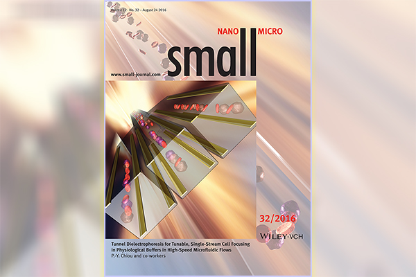 Pei-Yu Chiou: A new cover article published in SMALL