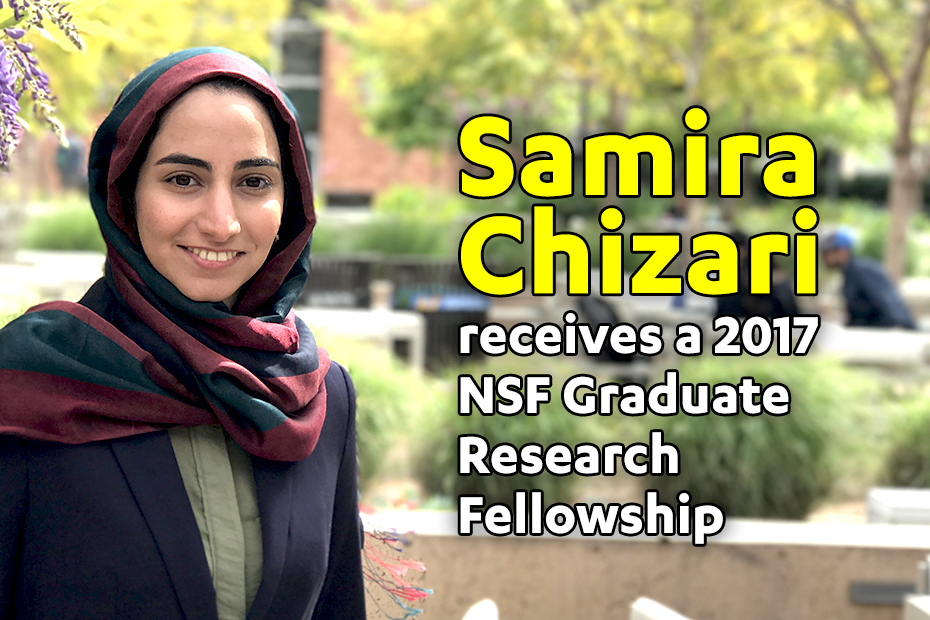 MAE Grad Student Receives 2017 NSF Fellowship