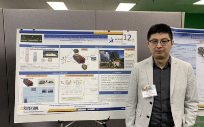 Yide Wang wins 2nd Best Poster at the Energy Storage Technologies and Applications Conference