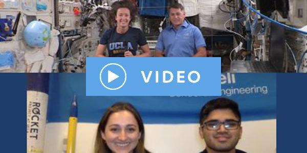 UCLA Samueli's In-Flight Conversation with SpaceX Crew 2