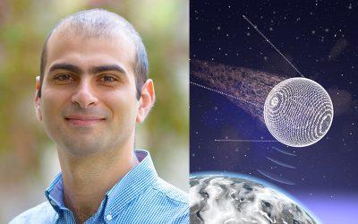 Artur Davoyan reaches for interstellar space