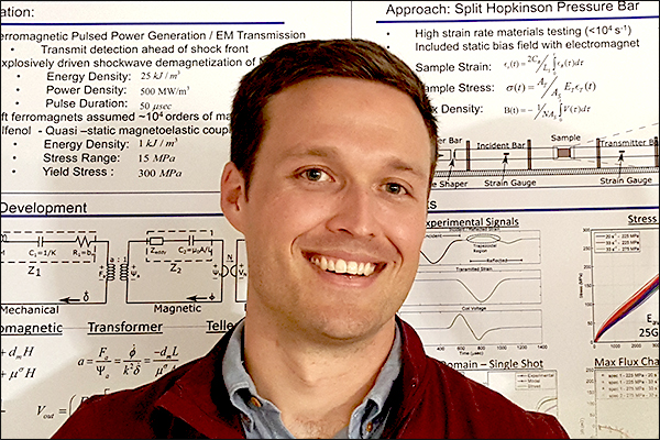 MAE Ph.D. student John Domann accepts Virginia Tech BEAM Department assistant professor position