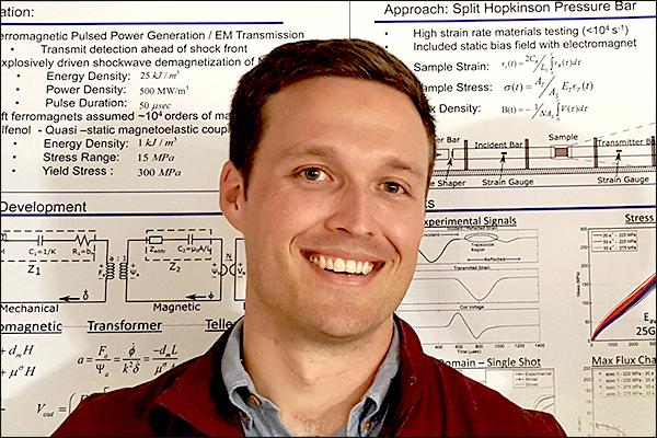 MAE Ph.D. student John Domann accepts Virginia Tech BEAM Department assistant professor position