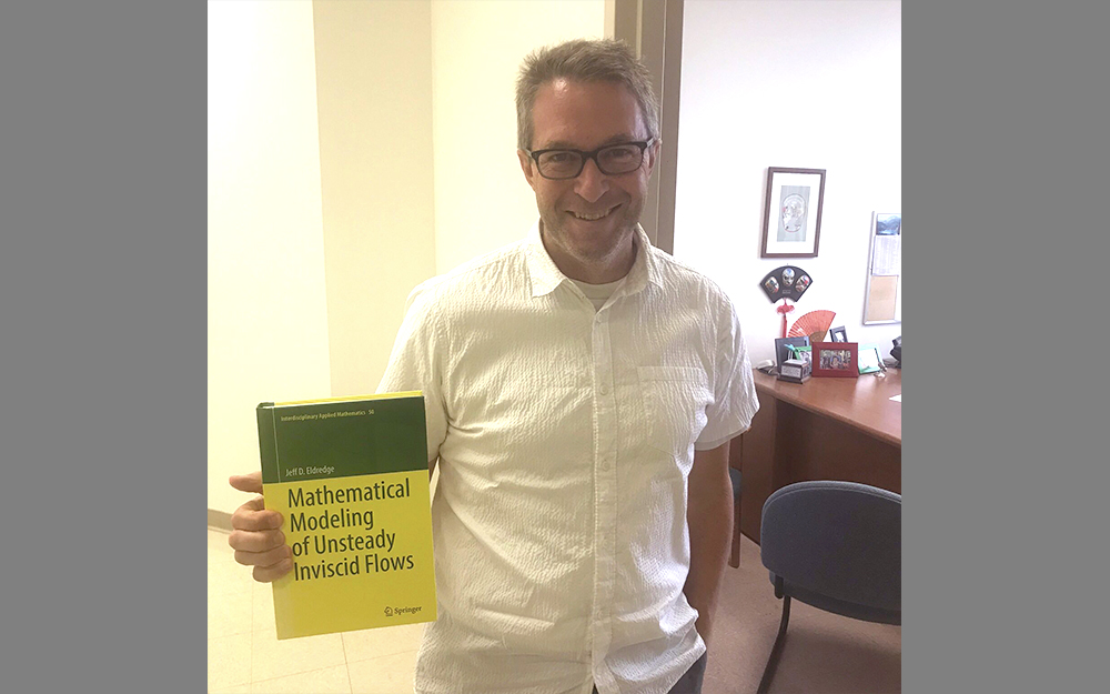 "Jeff Eldredge publishes new Springer book ""Mathematical Modeling of Unsteady Inviscid Flows"""