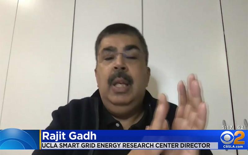 Rajit Gadh on CBS LA News