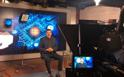 Rajit Gadh interviewed on NBC News and i24 News regarding New York's power outage