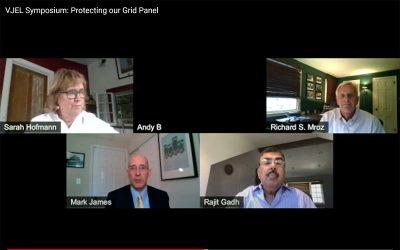 "Rajit Gadh panelist in VJEL Symposium ""Protecting our Grid Panel"""