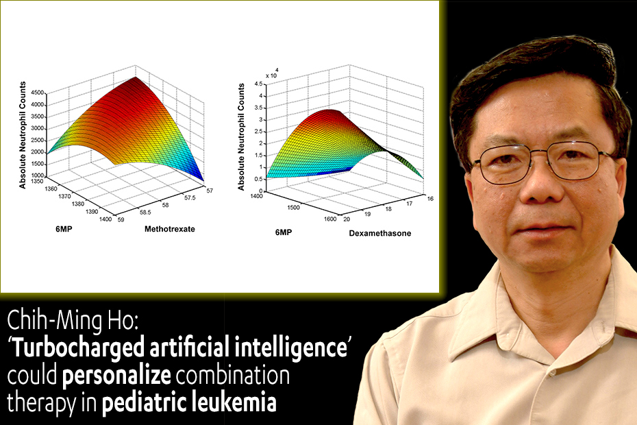 Chih-Ming Ho: 'Turbocharged artificial intelligence' could personalize combination therapy in pediatric leukemia