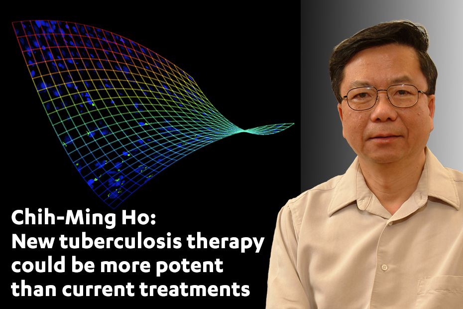 Chih-Ming Ho: New tuberculosis therapy could be more potent than current treatments