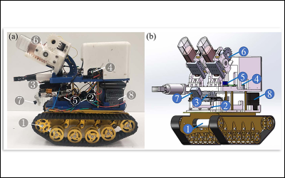 Student researchers from Khalid Jawed's lab are finalists at the top robotics conference