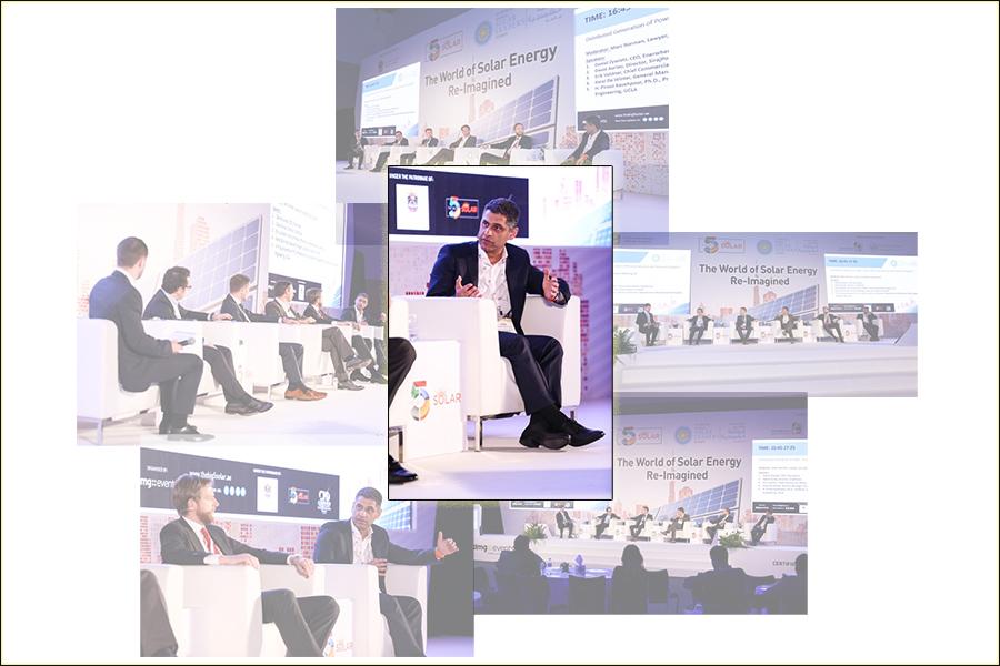 Pirouz Kavehpour at Dubai's Big 5 Solar 2017 Conference as keynote speaker and panelist