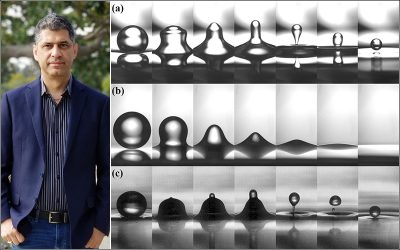 Pirouz Kavehpour's new paper is chosen as Editor's Pick for Physics of Fluids