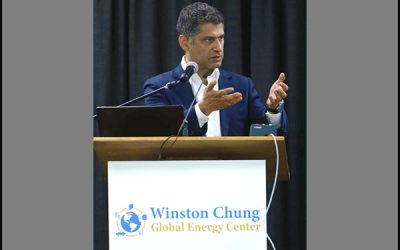 Pirouz Kavehpour keynote speaker at UCR's Inaugural Energy Storage Technologies and Applications Conference