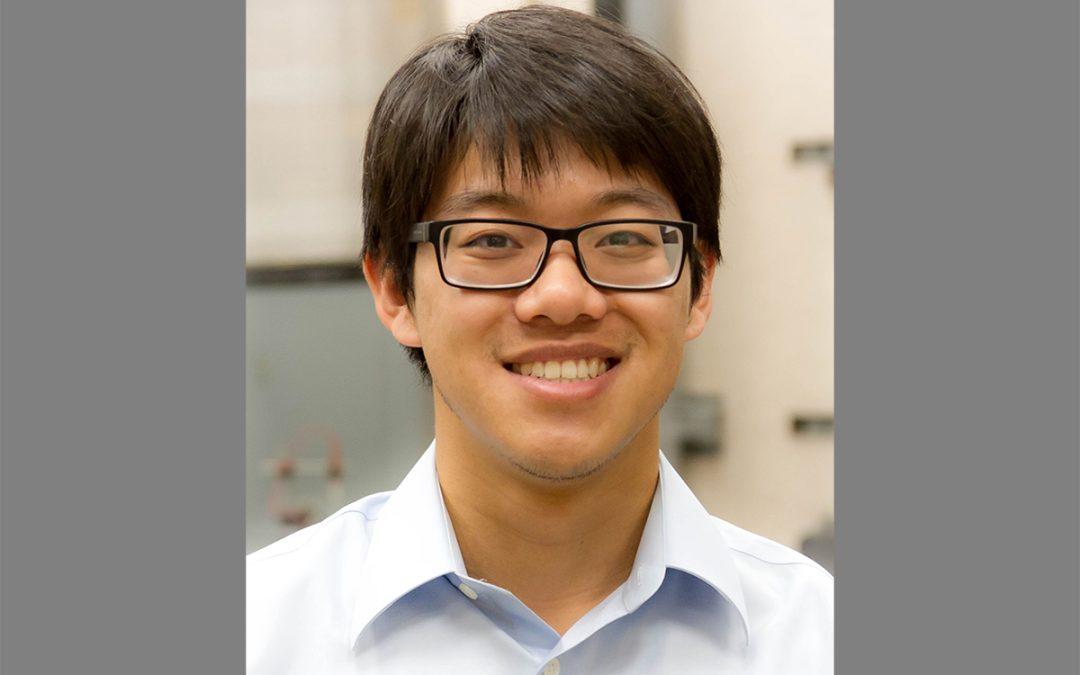 MAE graduate student Gary Li awarded 2019 Matthew Isakowitz Fellowship