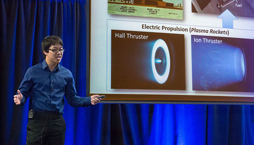 MAE graduate student Gary Li wins 1st place at 2016 UCLA Grad Slam, wins 3rd place at UC Grad Slam
