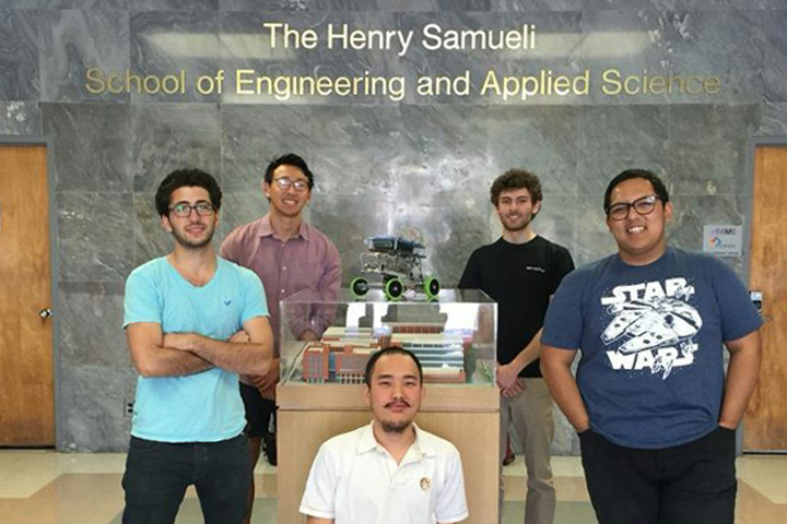 MAE-162E Capstone Design class team wins 1st place in the Science, Engineering and Math category for the 2016 Library Prize for Undergraduate Research