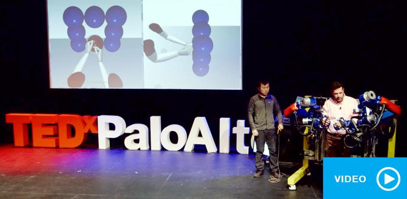 Wear a Robot: Strike Stroke | Dr. Jacob Rosen | TEDxPaloAlto