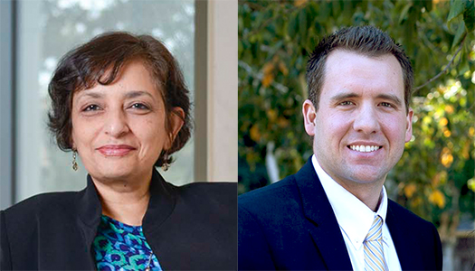 Jayathi Murthy and Mitchell Spearrin join UCLA MAE