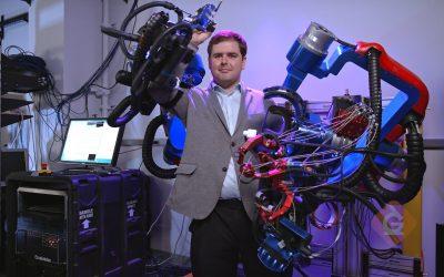 Peter Ferguson, Bionics Lab grad student, featured in Generation Genius video