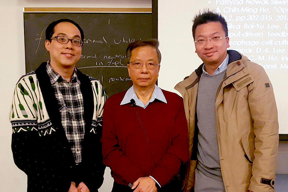 Chih-Ming Ho gives Air Products Distinguished Lecture at Penn State College of Engineering