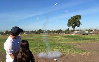 Rocket Project at UCLA Visits Scott Avenue Elementary School