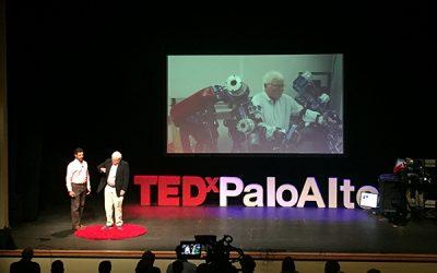 "Jacob Rosen delivers TEDx Talk ""Wear a Robot – Strike Stroke"" at TEDx Palo Alto 2018"