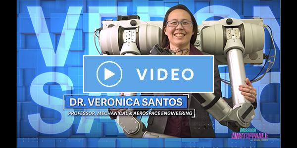Veronica Santos on Mission Unstoppable