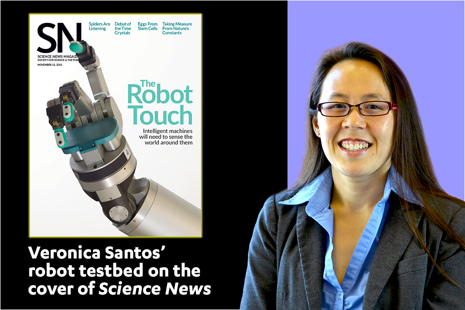 Veronica Santos: For robots, artificial intelligence gets physical