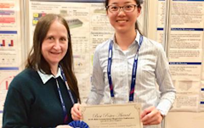 Qianchang Wang, TANMS graduate student, wins Best Poster Award at the Intermag 2018 Conference