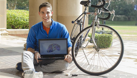Phillipe Videau: UCLA Engineering Student Helps Create New Bike Helmet Technology