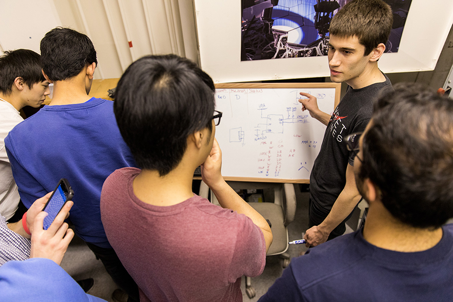 New engineering club takes strides toward furthering space technology