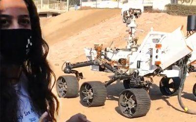 ELFIN/MAE alumna Anais Zarifian (MAE '16) featured in JPL NASA Mars Rover video
